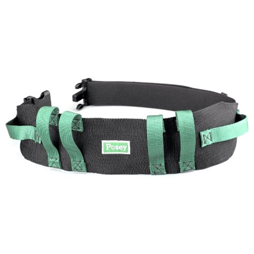 Posey Gait Belt With Handles And Quick Release Buckle At