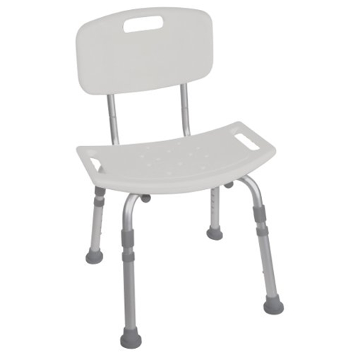 McKesson Deluxe Aluminum Shower Chair