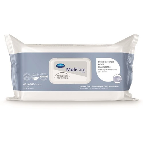 MoliCare Pre-moistened Adult Washcloths