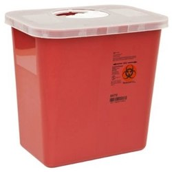 SharpSafety Multi-Purpose Sharps Disposal Container