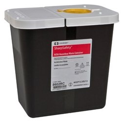 SharpSafety RCRA Hazardous Waste Container