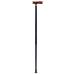 Lightweight Adjustable Designer Cane, Derby Top