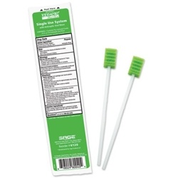 Toothette Plus+ Oral Swabs with Mouth Refresh Solution