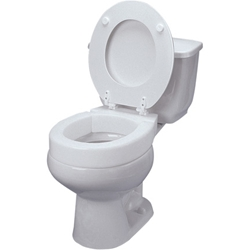 Ableware Hinged Elevated Toilet Seat