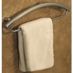 Invisia Towel Bar with Integrated Support Rail