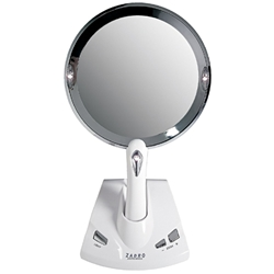 Zadro Power Zoom 1x to 5x Magnification Lighted Fogless Mirror