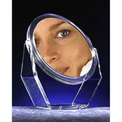 Zadro Clear Acrylic Swivel 1x/5x Magnification Mirror