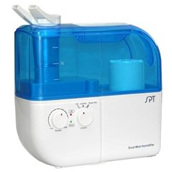 Sunpentown Dual Mist Humidifier with ION Exchange Filter