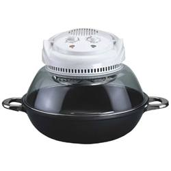 Sunpentown Digital Super Turbo Oven with Infrared & Wok Base