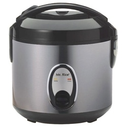 Sunpentown SC-1201S Mr. Rice 6 Cup Stainless Steel Rice Cooker