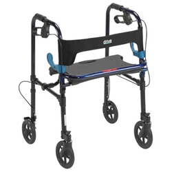 Drive Medical Deluxe Clever Lite Rollator Walker