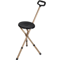 Drive Medical Deluxe Folding Adjustable Height Cane Seat