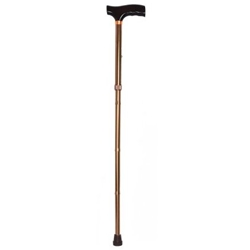 McKesson Lightweight Adjustable Folding Cane