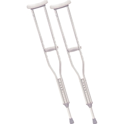 McKesson Aluminum Walking Crutches