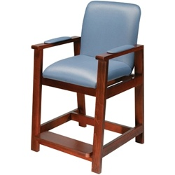 Drive Medical Wood Frame High Hip Replacement Chair
