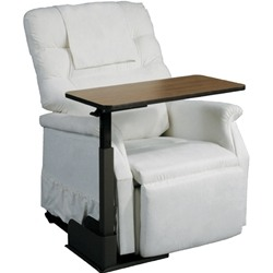 Drive Medical Deluxe Seat Lift Chair Overbed Table