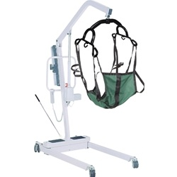 McKesson Electric Patient Lift with Rechargeable Battery