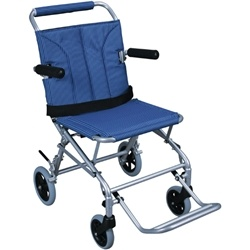 Drive Medical Folding Transport Chair with Carry Bag