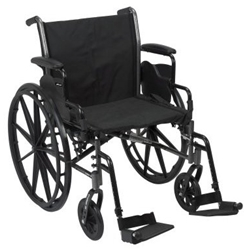 McKesson Lightweight Wheelchair
