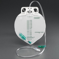 Bard Center-Entry Drainage Bag with Anti-Reflux Device