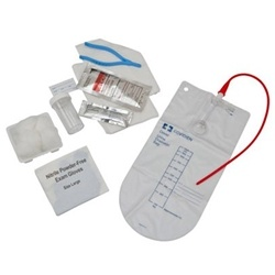 Dover Closed Catheter Tray