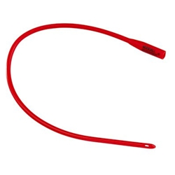 Dover Red Rubber Hydrophilic Coated Catheters