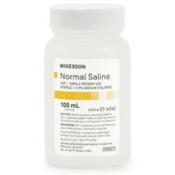 McKesson USP Normal Saline