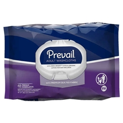 Prevail Premium Quilted Incontinence Washcloths