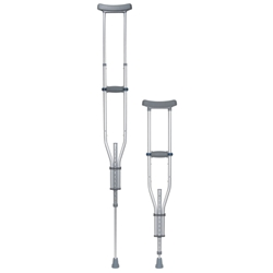 Knock Down Universal Aluminum Crutches