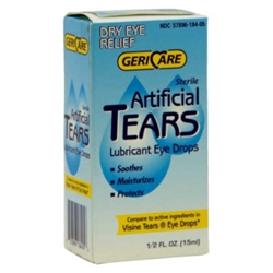 GeriCare Artificial Tears Lubricant Eye Drops