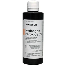 McKesson Hydrogen Peroxide 3% Topical Solution USP