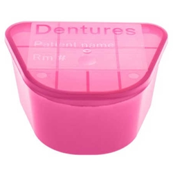 McKesson Denture Cup with Lid