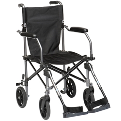 Drive Medical Travelite Transport Chair with Bag