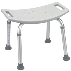 McKesson Deluxe Aluminum Shower Bench