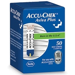 Accu-Chek Aviva Plus Blood Glucose Test Strips