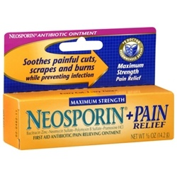 Neosporin + Pain Relief Maximum Strength First Aid Antibiotic Ointment