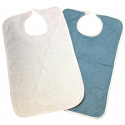 Beck's Classic Reusable Washable Terry Cloth Adult Bib