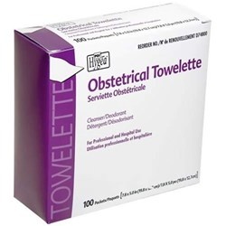 PDI Hygea Obstetrical Towelettes