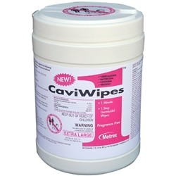 CaviWipes 1 Low Alcohol Surface Disinfectant