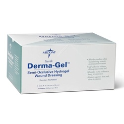Derma-Gel Semi-Occlusive Hydrogel Wound Dressing