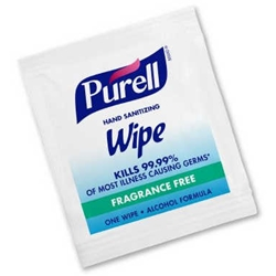 Purell Sanitizing Hand Wipes Individually Wrapped