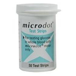 Microdot Blood Glucose Test Strips