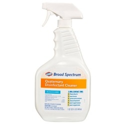 Clorox Broad Spectrum Quaternary Disinfectant Cleaner