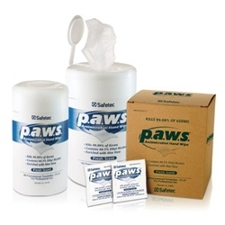 paws Antimicrobial Disinfectant Hand Wipes