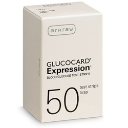 Glucocard Expression Test Strips
