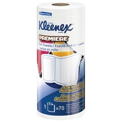 Kleenex Premiere Perforated Paper Towel Rolls
