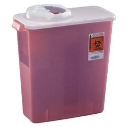 SharpSafety Dialysis Sharps Disposal Container
