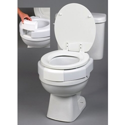 Ableware Secure Bolt Elevated Toilet Seat