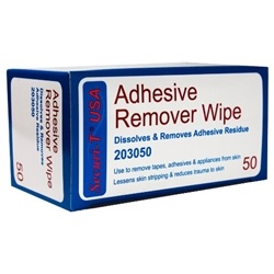 Securi-T Adhesive Remover Wipes