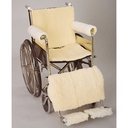 Skil-Care Sheepskin Wheelchair Cover